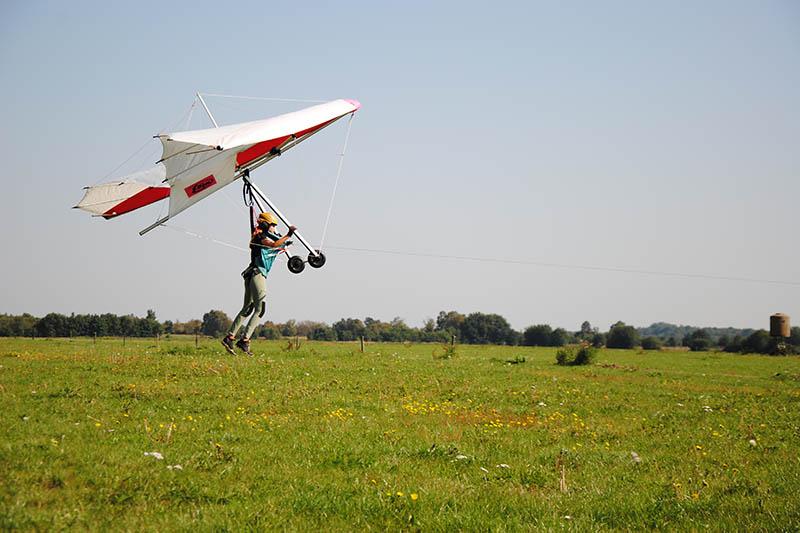 Leer nu deltavliegen bij Randonaero Adventures